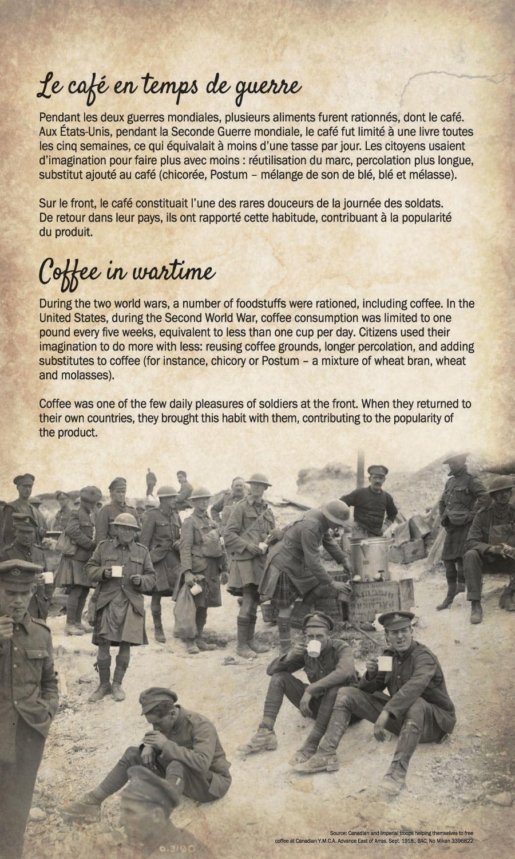 Café en temps de guerre