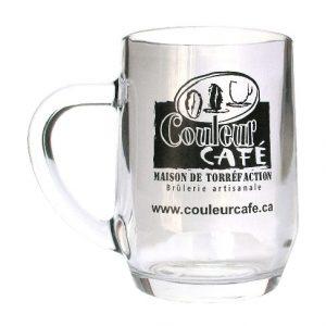 Café Tasse en verre Couleur Café